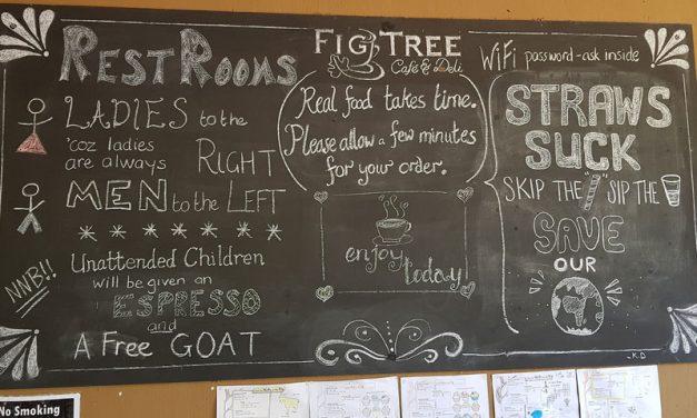 Restaurant Review – Fig Tree Café & Deli – Hluhluwe