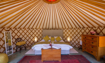 WIN A Two-night Romantic Getaway in a Yurt