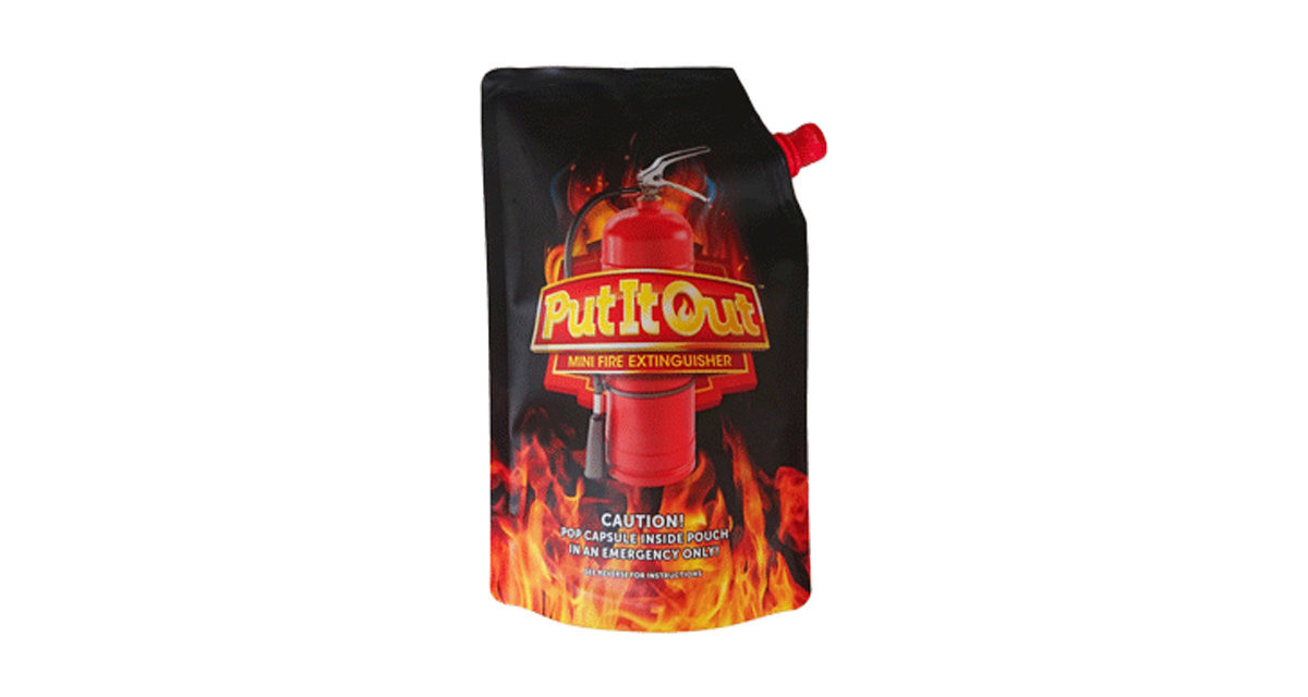 "Members Only – WIN one of 30 ""Put It Out"" Fire Extinguishers"