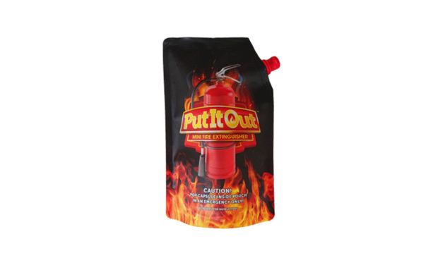 "WIN one of 30 ""Put It Out"" Fire Extinguisher Hampers ( 5 Extinguishers in each hamper )"