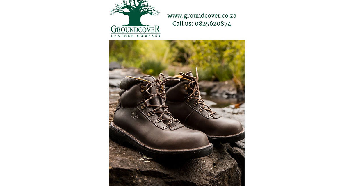Win a pair of mens Berg Boots from Ground Cover Leather Company valued at R1210