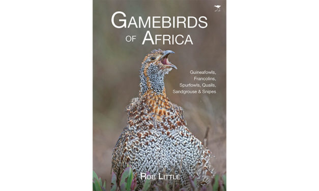 A copy of Rob Little's new book GAMEBIRDS OF AFRICA valued at R370