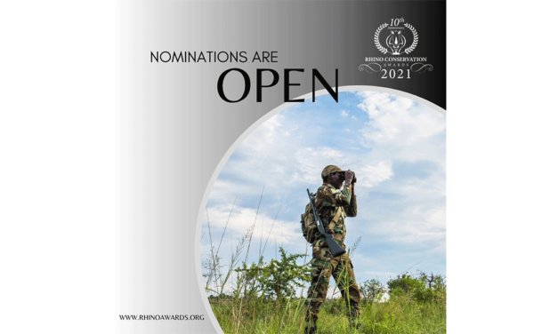 RHINO CONSERVATION AWARDS CELEBRATES 10 YEARS OF RECOGNISING CONSERVATION HEROES ACROSS AFRICA