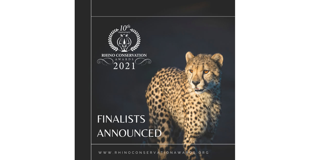 RHINO CONSERVATION AWARD FINALISTS ANNOUNCED!